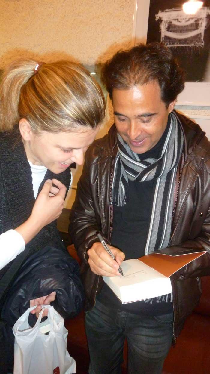Promocije knjiga - José Eduardo Agualusa - 24.10.2011. Promocija Agualusinih romana Žene mojega oca i Tropski barok u Zagrebu