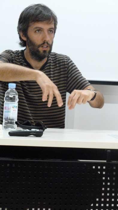 Jacinto Lucas Pires na Festivalu kratke europske priče 2012.